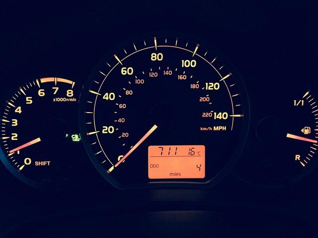 Kilometertellerstand