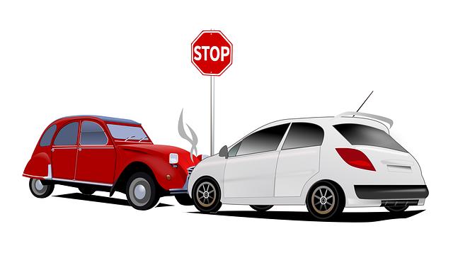 Pas op voor schadewagen